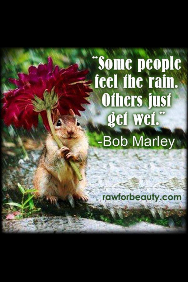 Bob Marley quote. Luv it.
