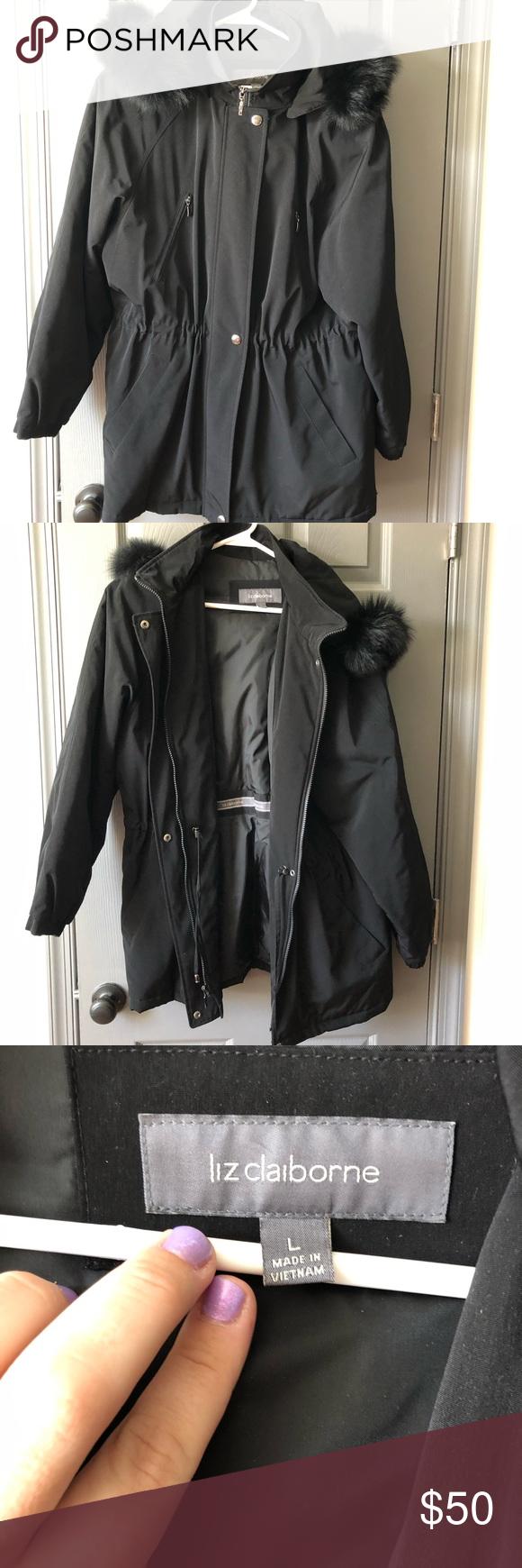 Coat By Liz Claiborne Liz Claiborne Clothes Design Claiborne [ 1740 x 580 Pixel ]