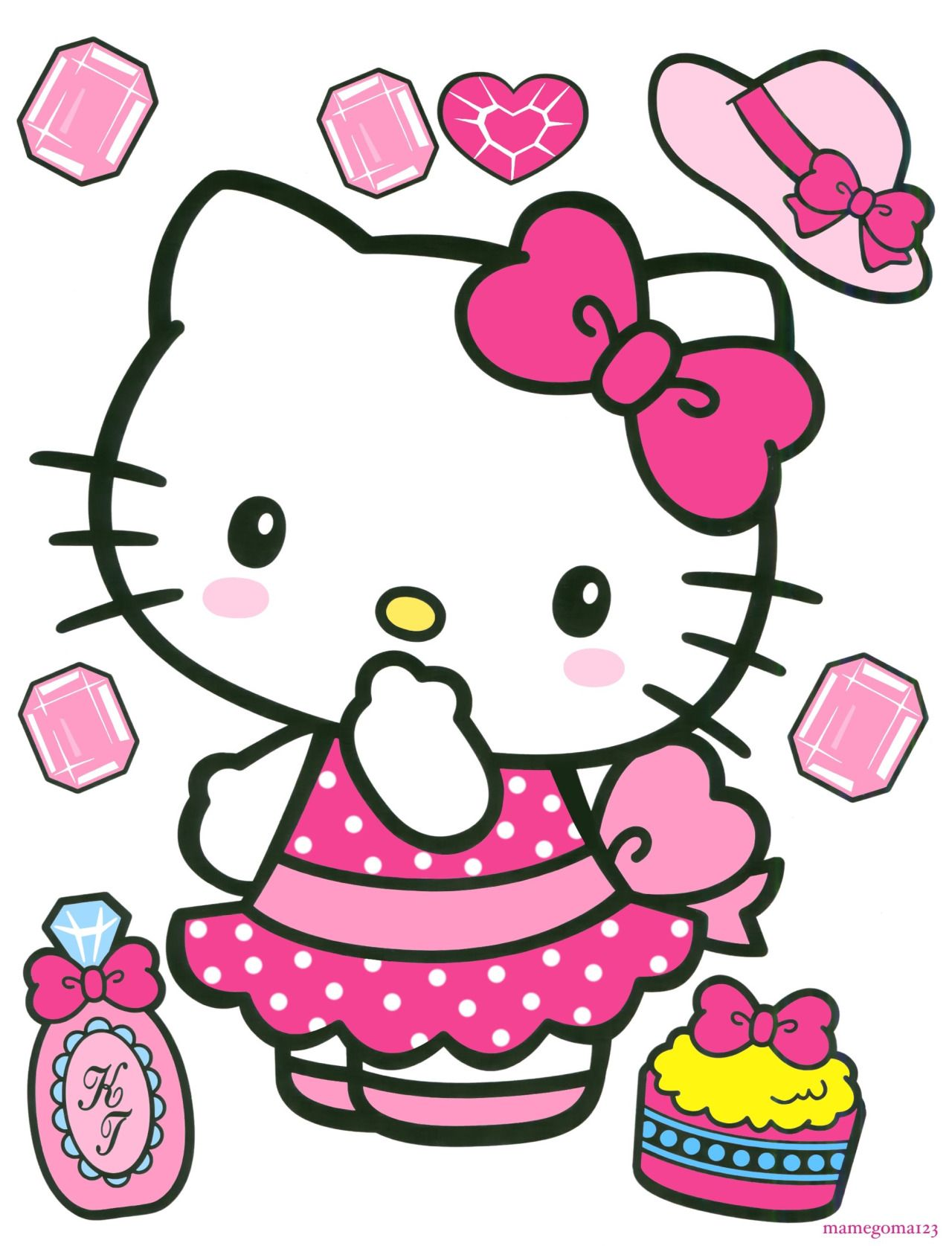 Hello Kitty Tarot Deck: Cute Images : Photo