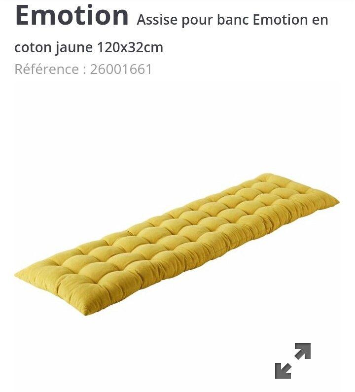Alinea Matelas Banc 120cm 32cm 20 Astuce Pour Dormir Coussin Banc Matelas Memoire De Forme