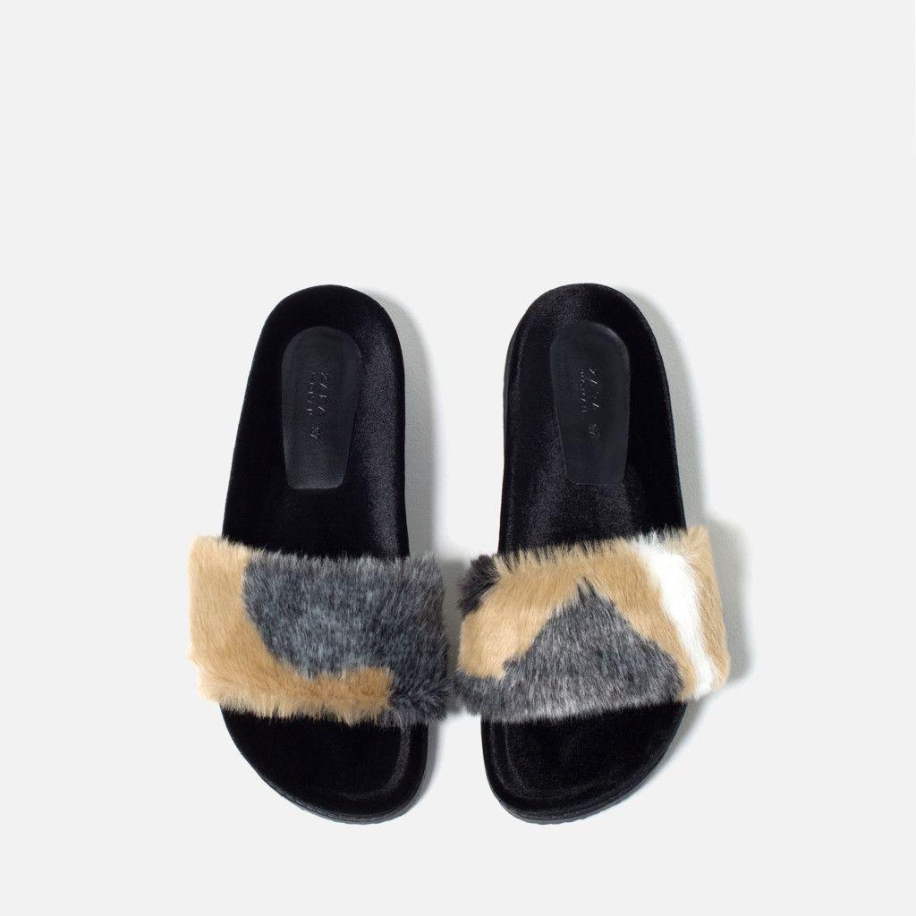 Polémica A Incluída Polyvore Peludos Los Zapatos Zara Con Llegan xtSY7Bw