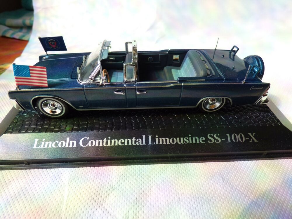 Miniature Car Lincoln Continental USA Limousine Vintage ...