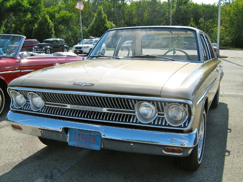 1963 Amc Rambler Ambassador 880 Sedan Autos
