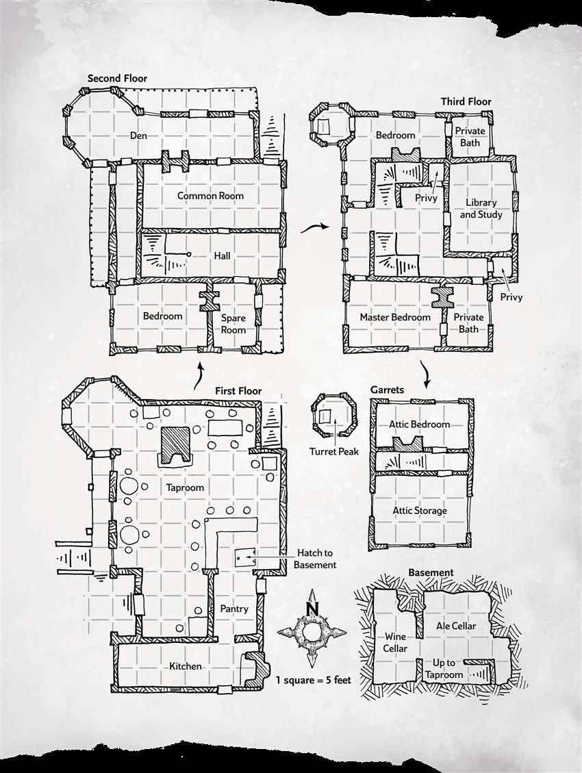 Handouts - Waterdeep Dragon Heist - Adventures - Compendium