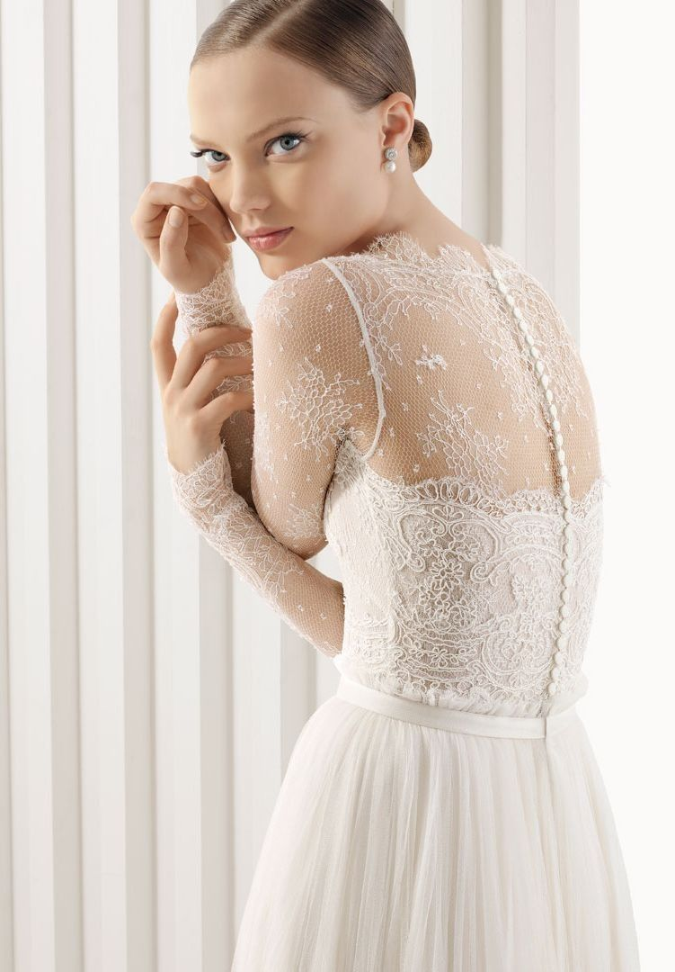 215-284 organza-and-lace-jewel-a-line-elegant-wedding-dress.jpg But only  if you twist your arms like that. It s sewn that way. 6ff23cb6e92