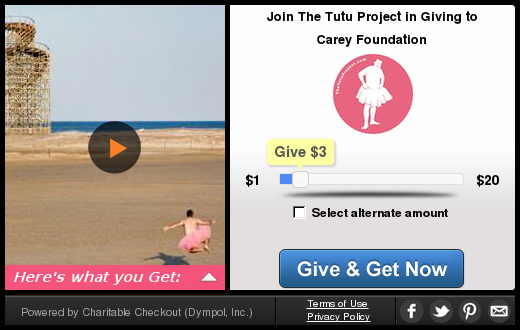 Give and Get with The Tutu Project
