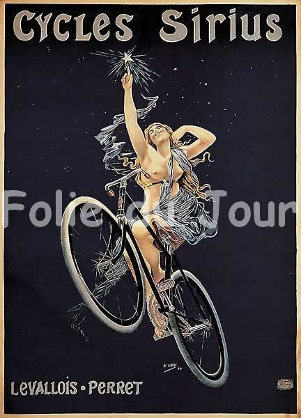 Naked woman on a bicycle 3