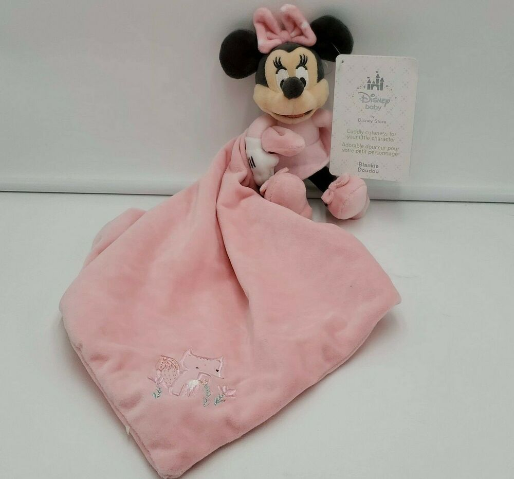 Minnie Mouse Baby Girl Lovey Toddler Sweet Little One