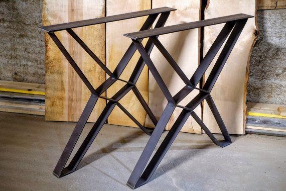 Vintage X Table Rack Table Runners Metal X Frame