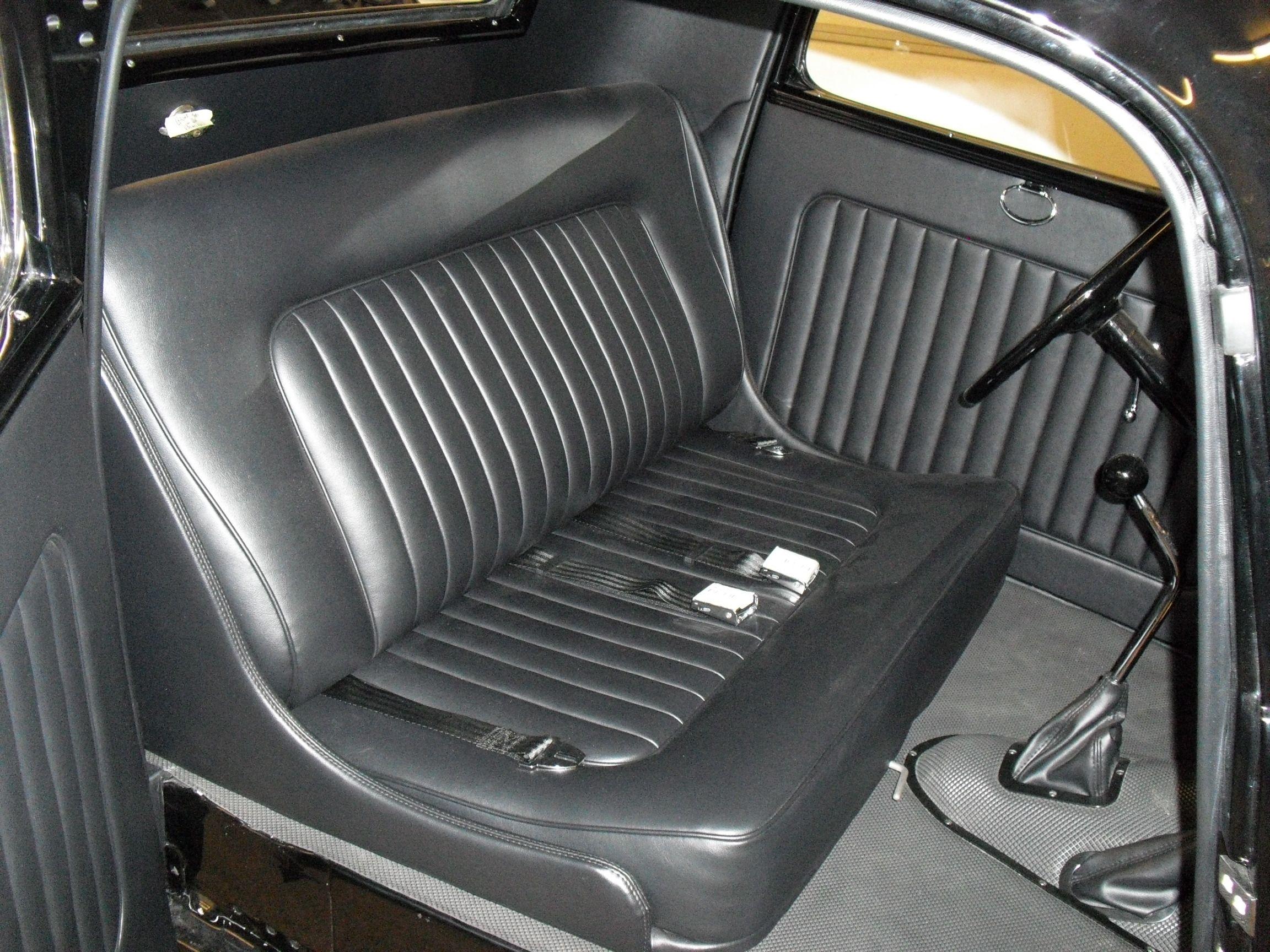 Tim Kirby 1933 Ford Coupestreet Rodder Scottsdale Top 100 Hot Rods By Dean Black Oldsmobile Rocket Interior Upholstery 3 Jpg 2 304 1 7 Hot Rods Interior Rodder