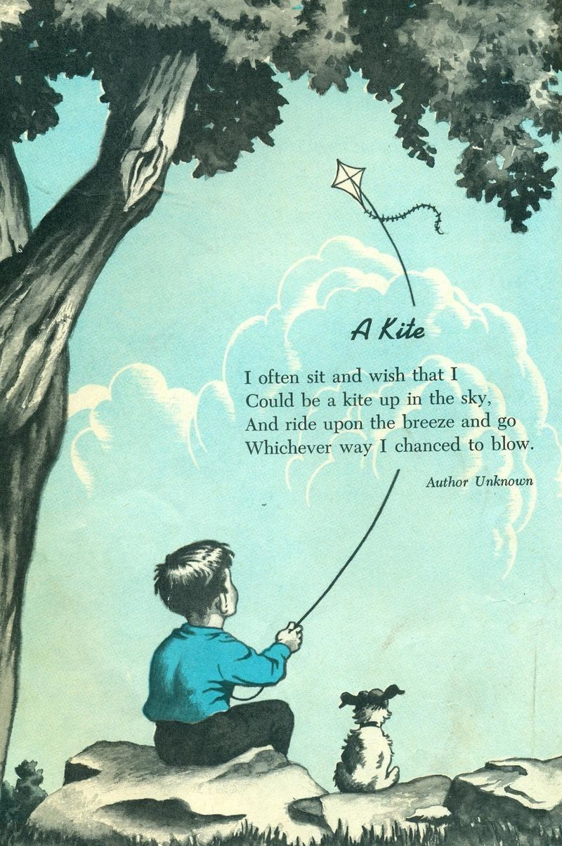 A kite  Go fly a kite, Childrens poems, Kite