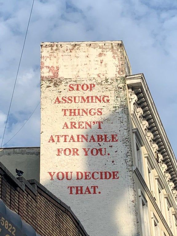 [image] It's up to you and don't let anyone tell you otherwise. You can do it.