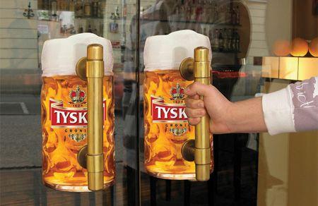 Tyskie Beer advertising