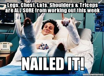 Nailed It Funny Gym Quotes Workout Humor Workout Memes