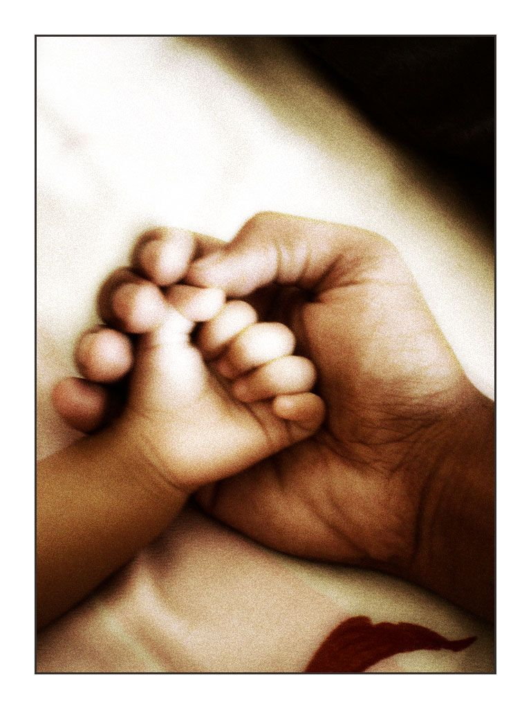 Father And Daughter Holding Hands Love You Forever Michael
