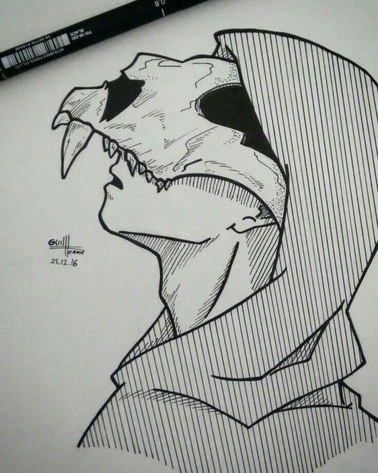 Cool Drawing Sketches Dark Art Drawings Creepy Drawings
