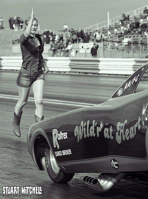 Drag Racing: Because Back Up Girls | Drag Race Back Up