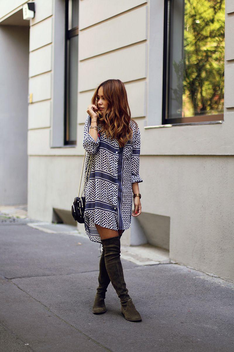 Neu werden abwechslungsreiche neueste Designs großer rabatt von 2019 Outfit: How to wear Overknees in Summer   Spring Summer ...