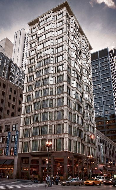 Reliance Building 32 North State Street Chicago Usa