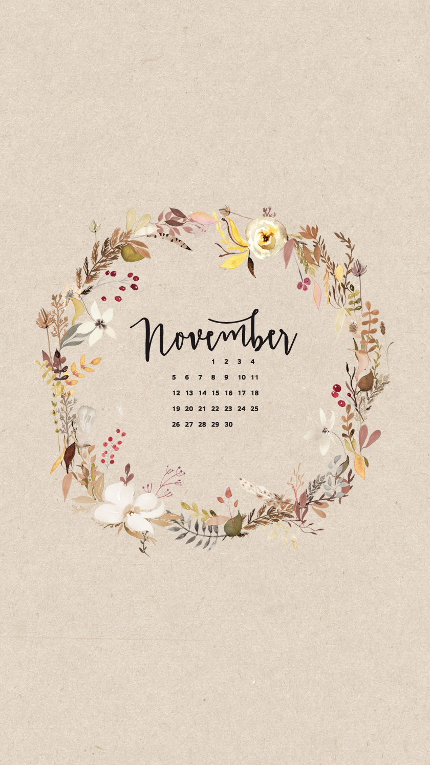 Hangtag November wallpaper, Iphone wallpaper november