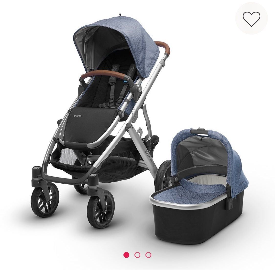 Selling together uppababy vista Henry and Mesa in Henry