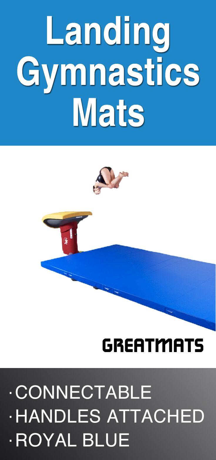 Gymnastics competition landing mats gymnastics mats