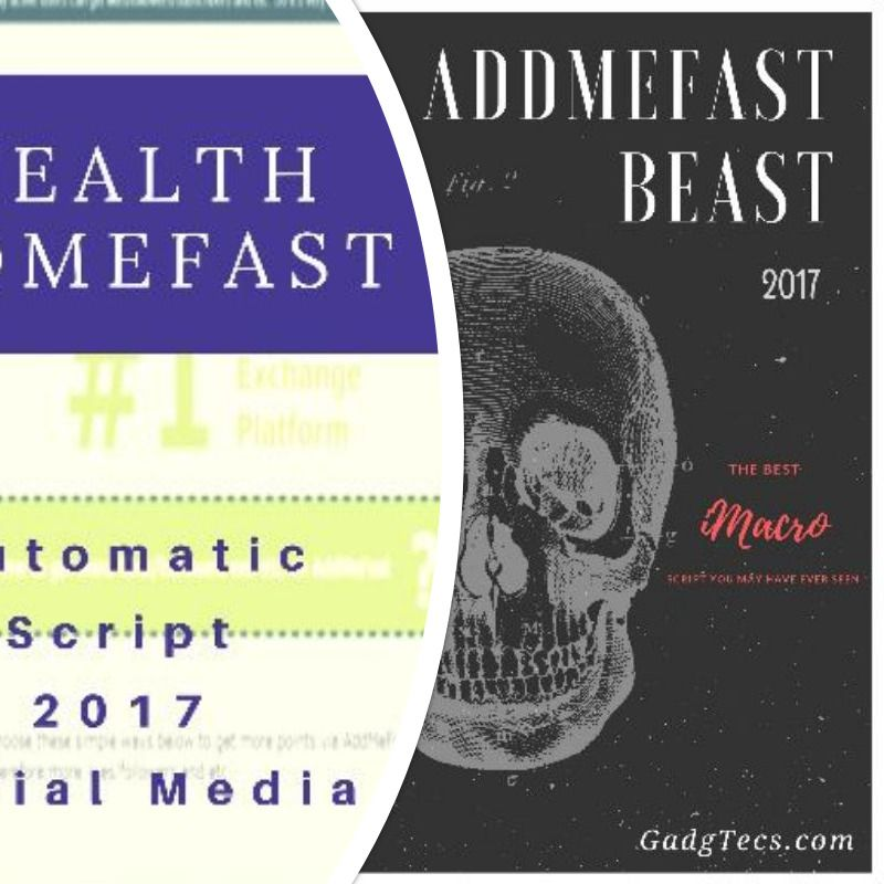 Updated And Working Free Addmefast Script For 2017 Books Books 2017 Script
