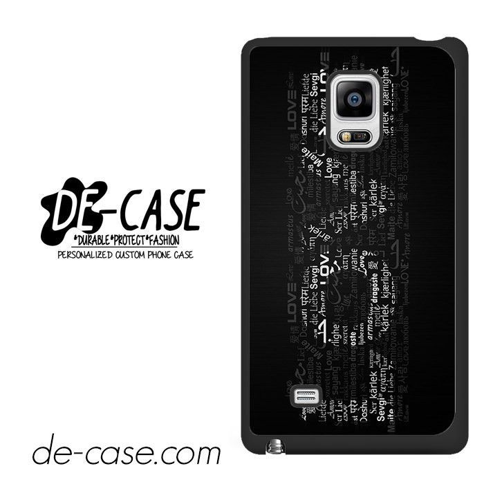 Love Words Deal  Samsung Phonecase Cover For Samsung Galaxy Note Edge
