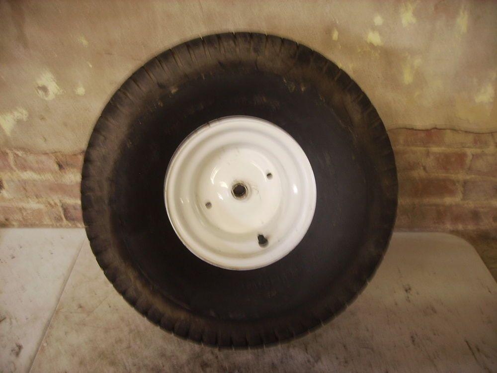 Craftsman LT2000 Rear Tire & Rim Carlisle TurfSavor lawn