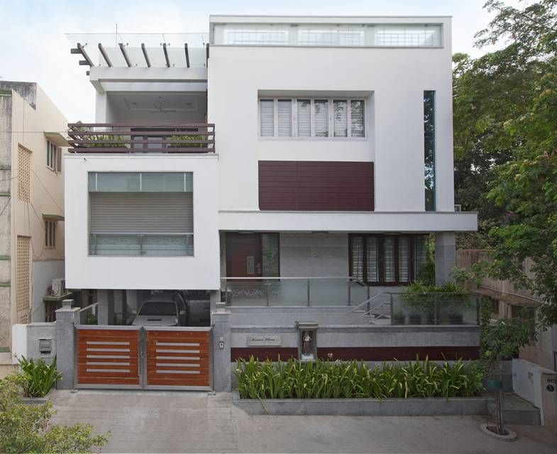 Award Winning House At Kk Nagar Chennai Designed By Ansari Architects Has Won Dalmia Vijay T House Architecture Design House Design Photos Cool House Designs