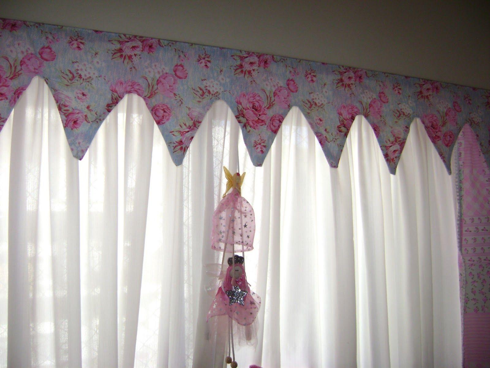 Telas para hacer cortinas infantiles costura pinterest - Cortinas infantiles nina ...