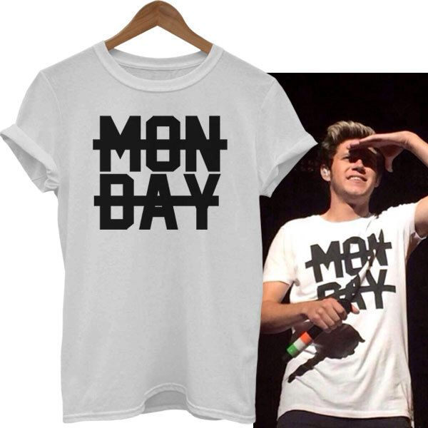 monday shirt niall horan shirt crossed out one direction t shirt 1d horan 93 YOB unisex adult t-shirt TBSB52 by TheBeautifulSkies on Etsy https://www.etsy.com/listing/250374316/monday-shirt-niall-horan-shirt-crossed