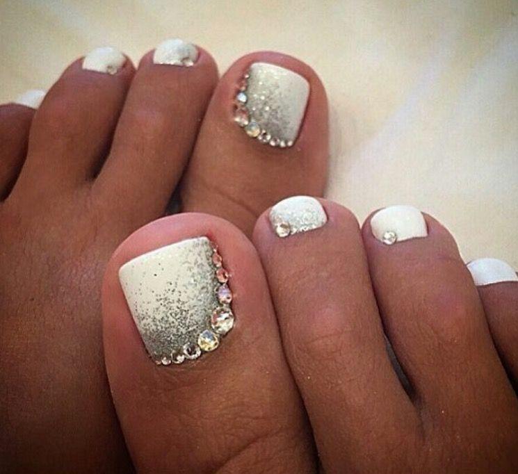 Pin By Taryn Wilson On Toe Nail Designs Toe Nails White Pretty Toe Nails Toe Nails
