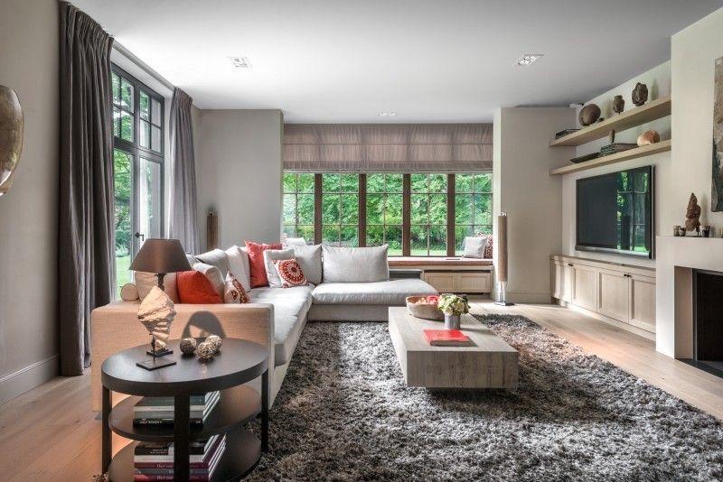 Interieur landelijke stijl woonkamer   Totaal realisatie S ...