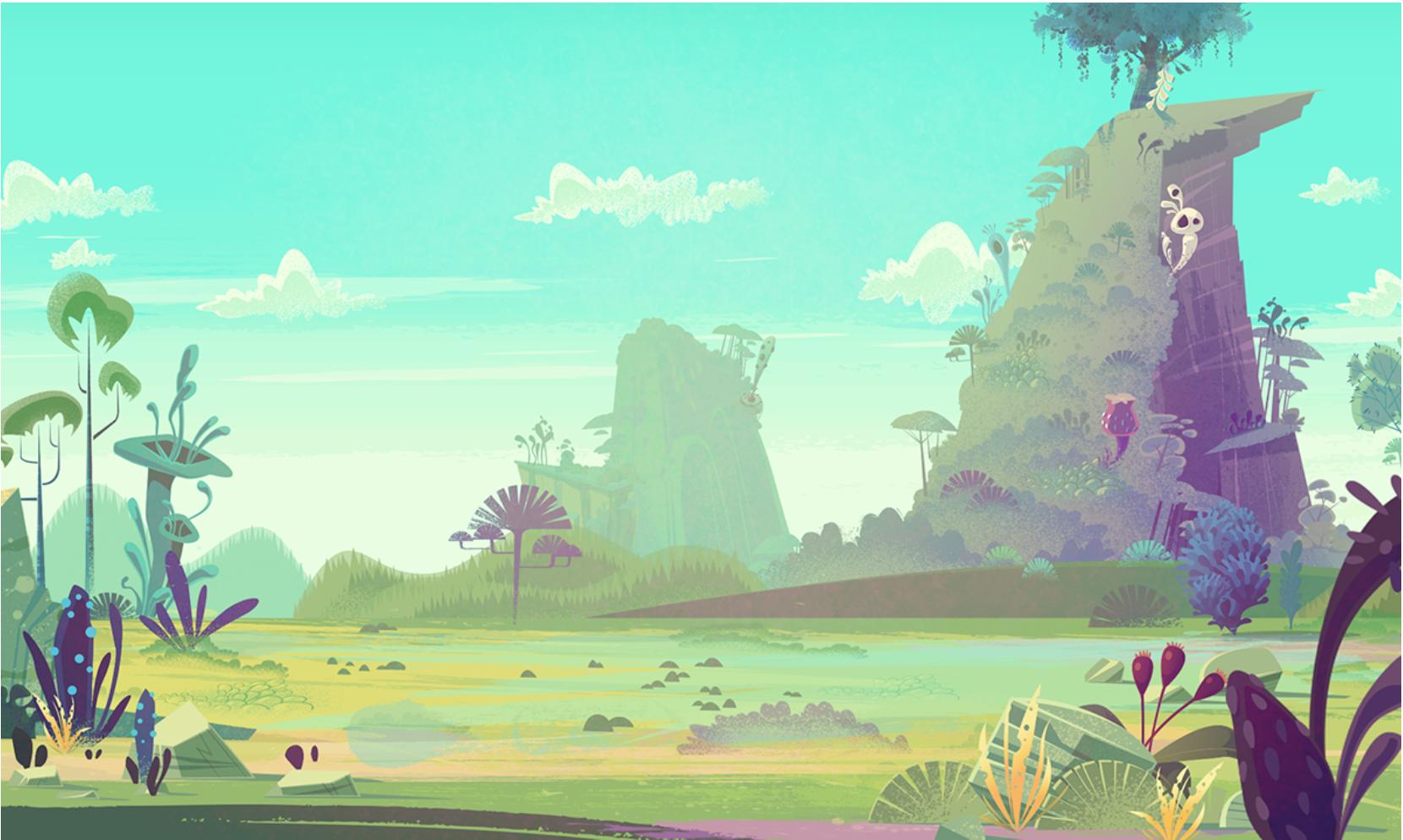 James Gilleard Cartoon Backgrounds Animation Background Cartoon Background Environment Concept Art