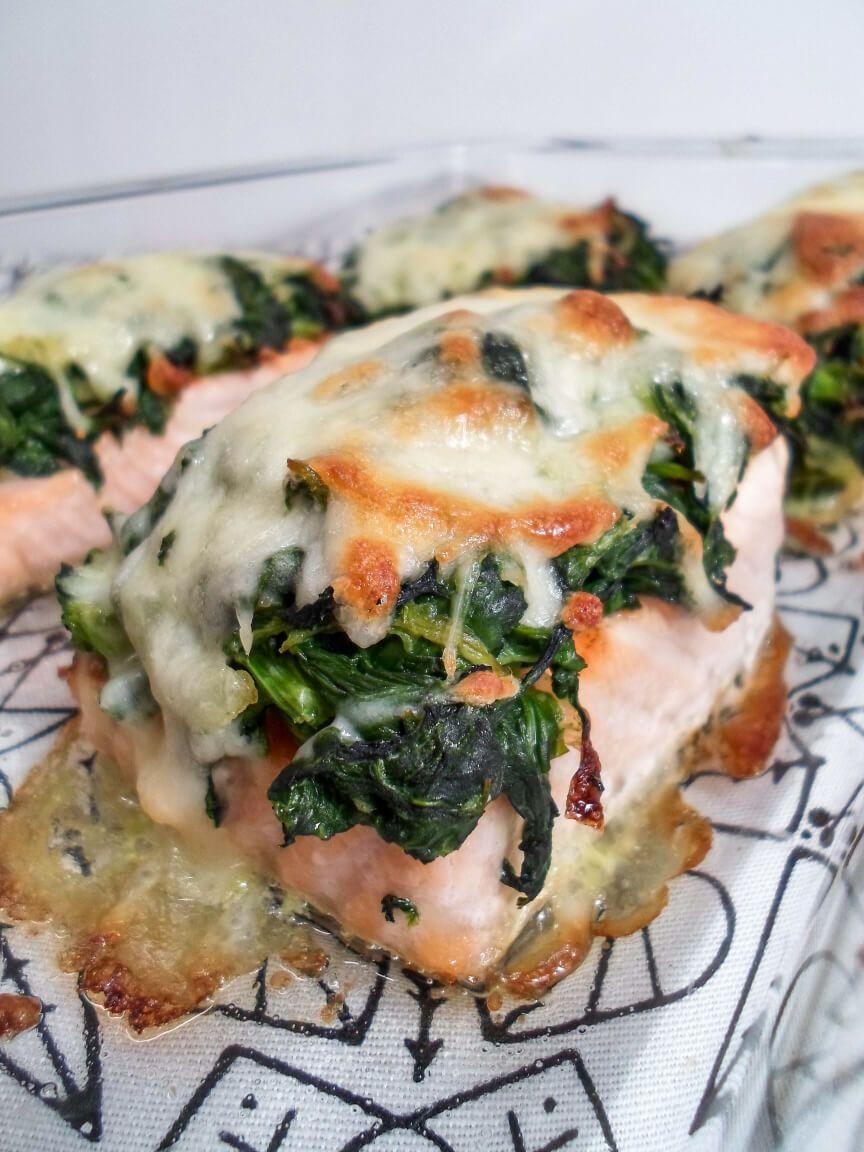 Photo of Überbackener Lachs Rezept – Gesundes Low Carb Fischgericht aus dem Ofen