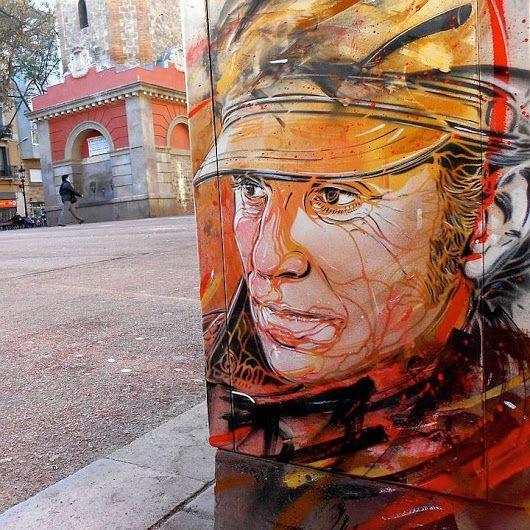 Artist: Christian Guémy aka C215  - #streetart