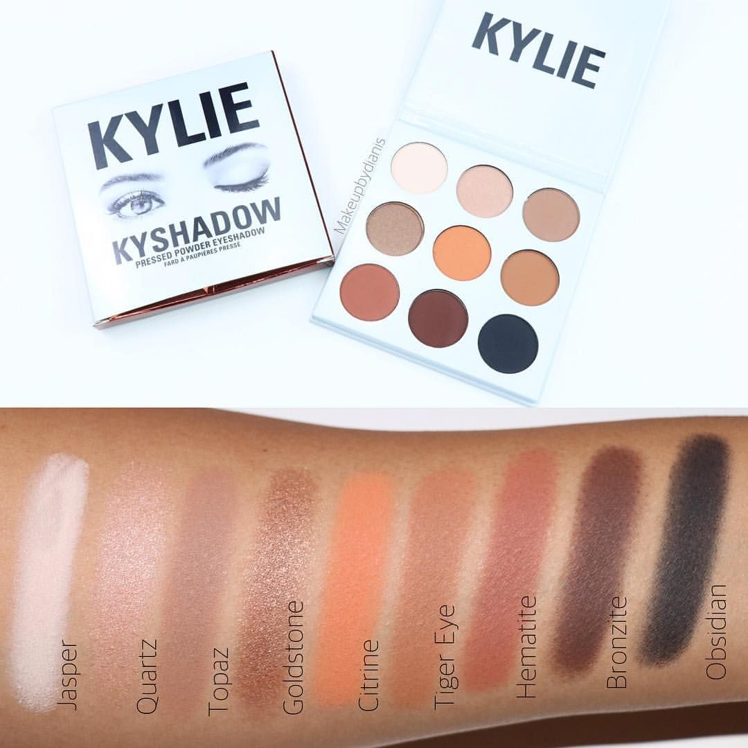 Kyshadow - The Bronze Palette by Kylie Cosmetics #13