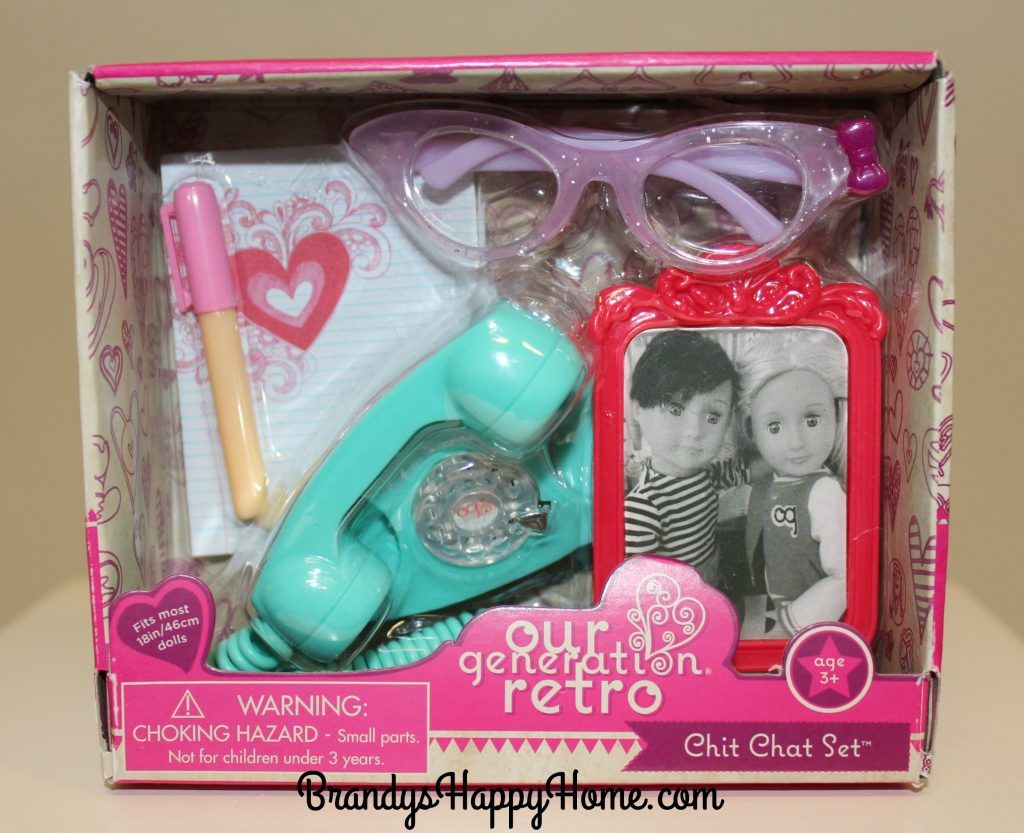 New Our Generation Doll Retro Sets #dollaccessories