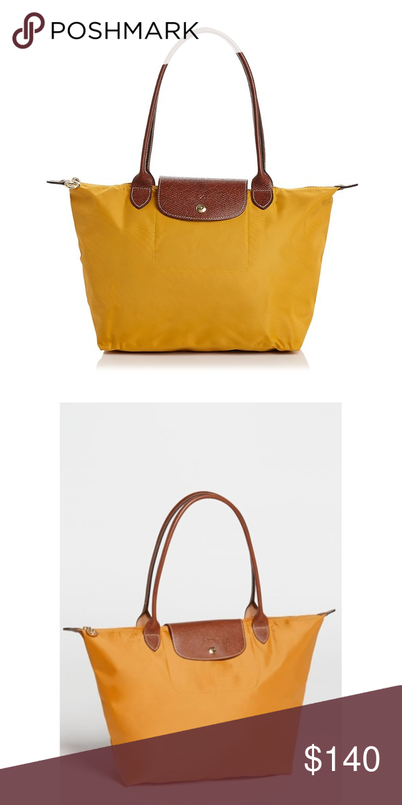 4331146c9e29 NWT  Large Le Pliage  Tote LONGCHAMP in sunshine With a nod to timeless  French