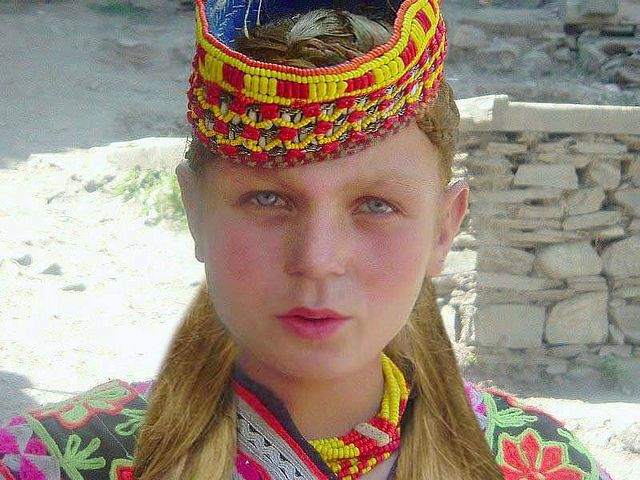Kalasha The White Tribe Of Pakistan Kalash People Girl With