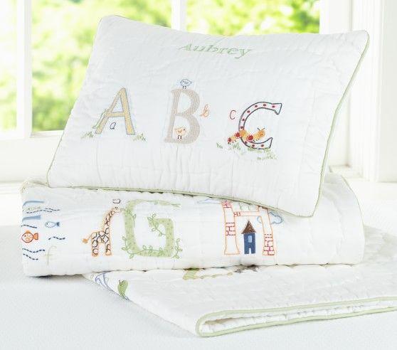 Abc Nursery Bedding Set Pottery Barn Kids Baby Boy S Room Pinterest Sets And