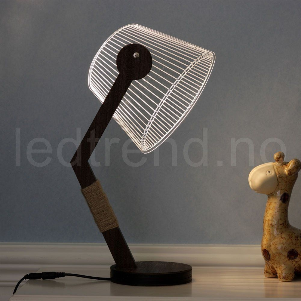 3d Lampe Med Led Lys Lamper Lys Design