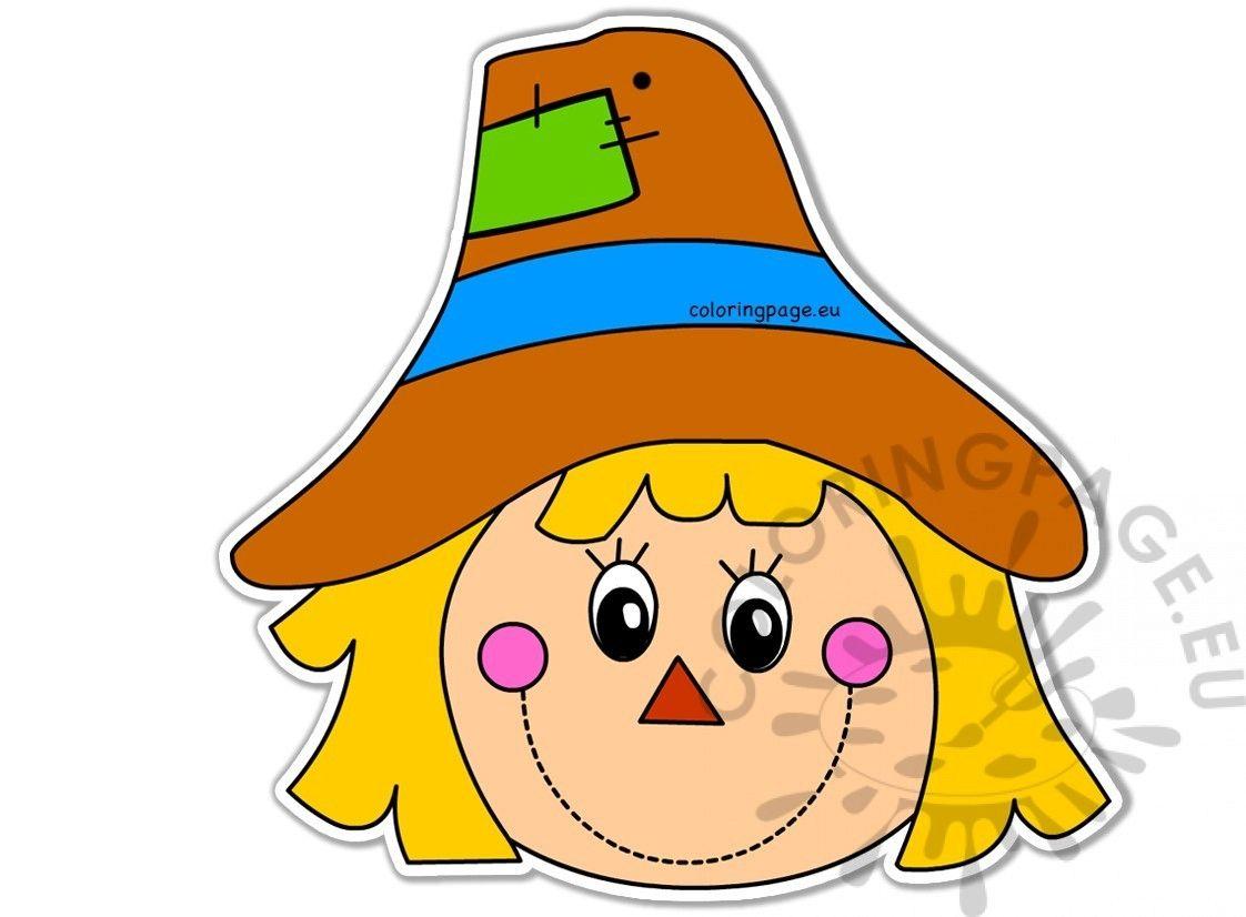 Scarecrow Face Clipart Free In 2021 Scarecrow Face Clip Art Free Clip Art