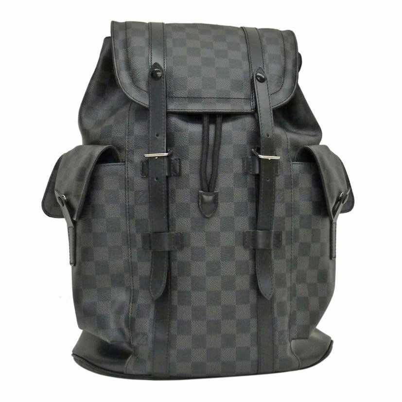 cb39e6f3426b eBay  Sponsored Louis Vuitton N41379 Backpack Christopher PM Damier Graphite  Mens FS Mint  1524