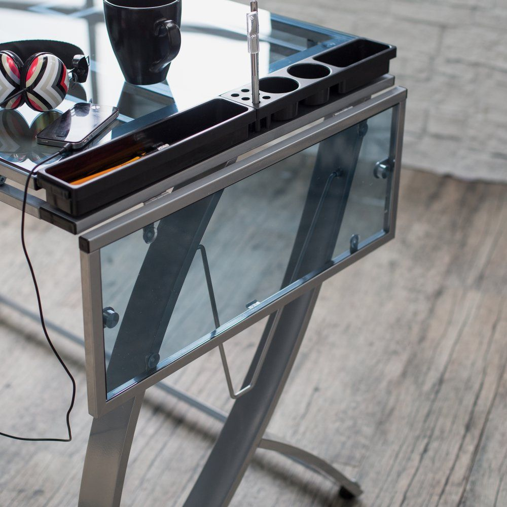 Studio Designs Futura Advanced Drafting Table With Side Shelf