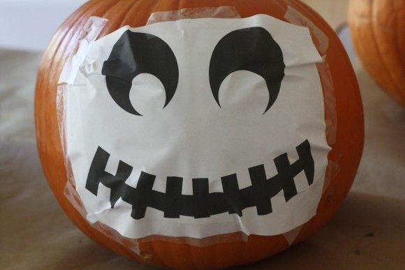 halloween pumpkin template 29A