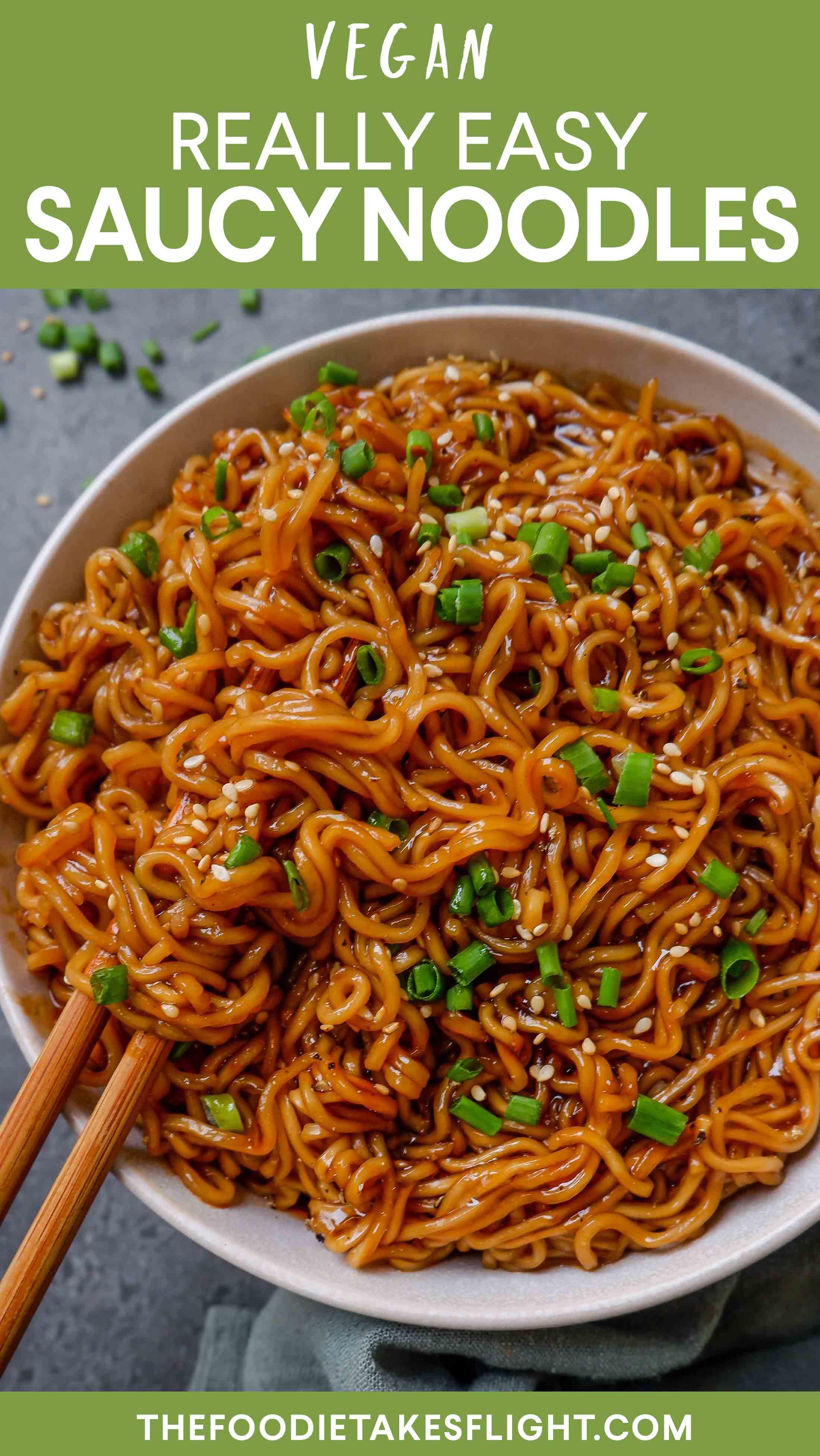 Easy Saucy Ramen Noodles Vegan Recipe Recipe In 2020 Noodle Recipes Easy Recipes Healthy Ramen