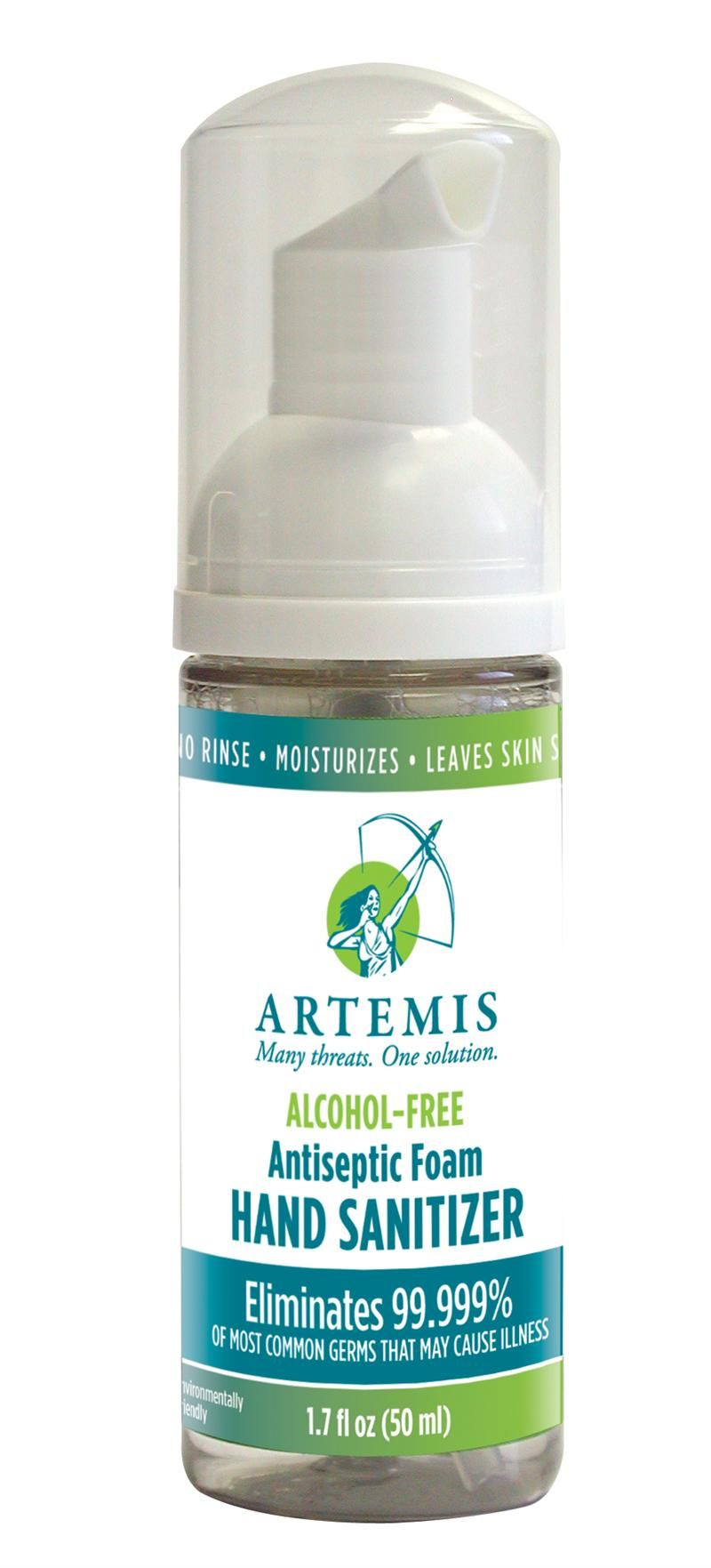 Artemis Alcohol Free Foaming Antiseptic Hand Sanitizer Its Unique