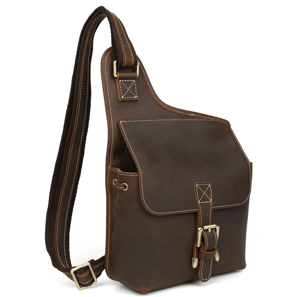 Leather · Leather Messenger Bag For Men Cell Phone Cases Retro Hobo Sling Bag  Purse Uptown Bag Hippie 8a0a138a2bb31